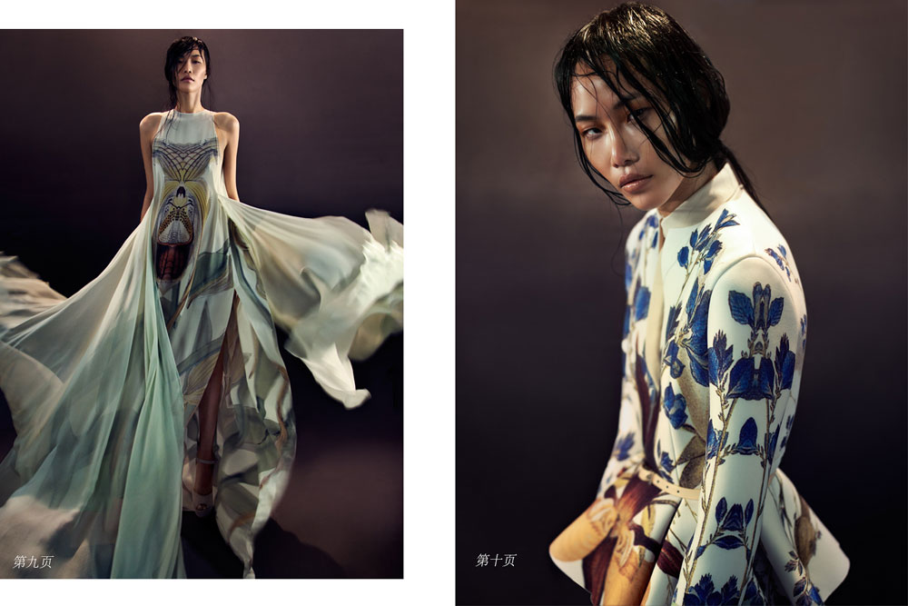 Katerina Chang by Mikael Wardhana in 'Hymn to the Immortal Wind' for Fashion Gone Rogue