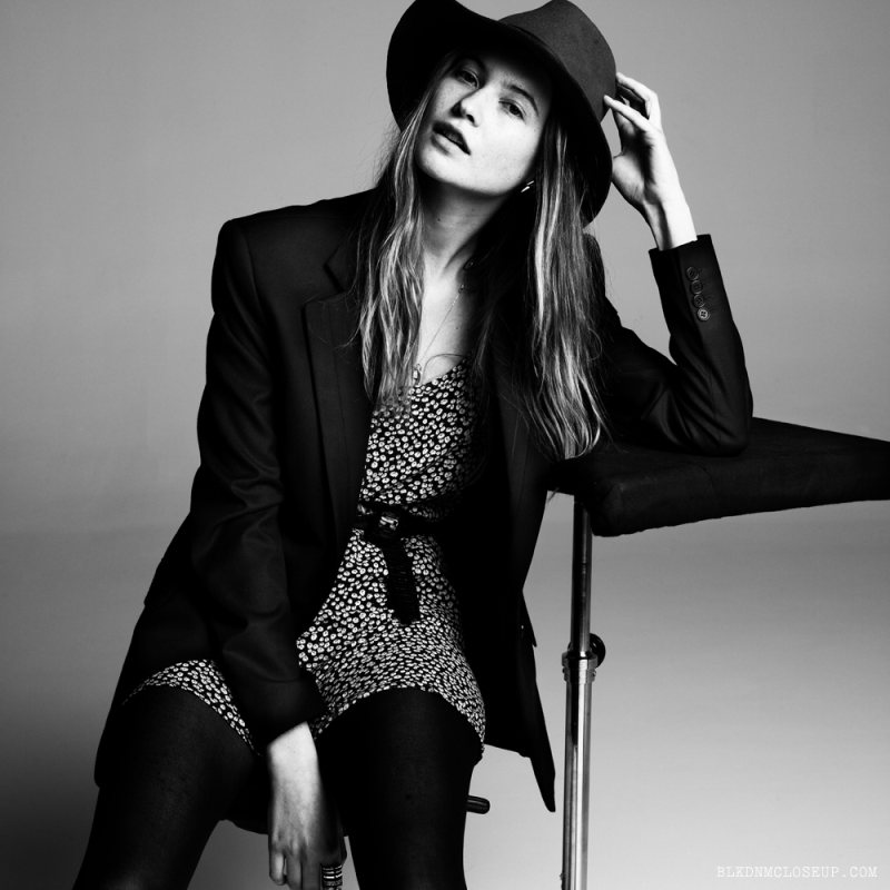Anja Rubik, Doutzen Kroes, Lily Donaldson & Others Pose in BLK DNM for Inez & Vinoodh