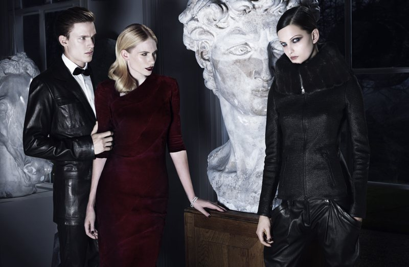 Masha, Nadine & Tuuli Are Dark Beauties for Jitrois' Fall 2012 Campaign by Rankin