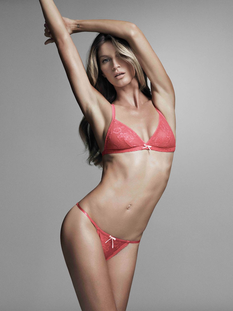 Gisele Bundchen Gets Sexy in A Campaign for Her Brazilian Intimates Collection