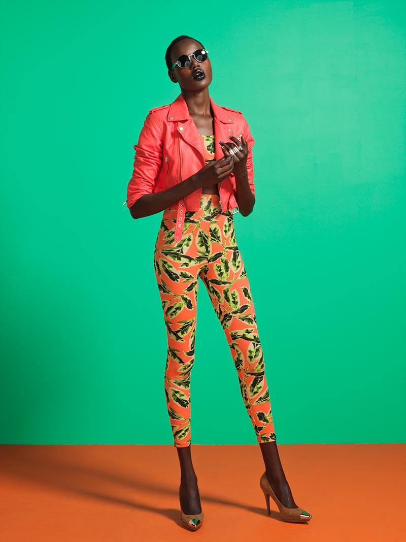 Ajak Deng is a Summer Beauty for Nasty Gal's July 2012 Lookbook