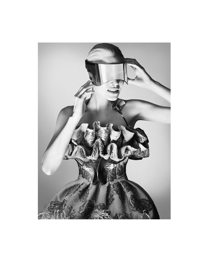 Suvi Koponen is Extraterrestrial for Alexander McQueen's Fall 2012 Campaign by David Sims