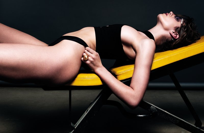 Gianluca Fontana Captures Workout Looks Inspired by Lisa Lyon for Io Donna