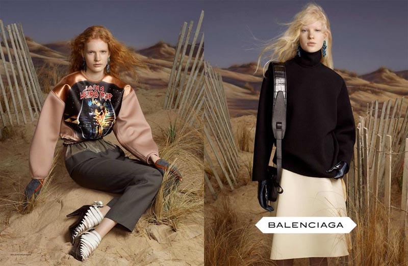 Balenciaga's Fall 2012 Campaign Stars All Newcomers by Steven Meisel
