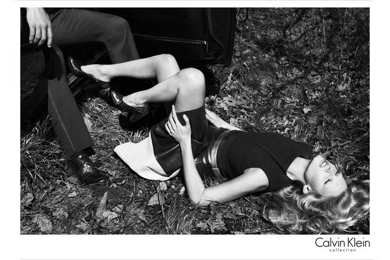 Lara Stone Stars in Calvin Klein's Fall 2012 Campaign by Mert & Marcus