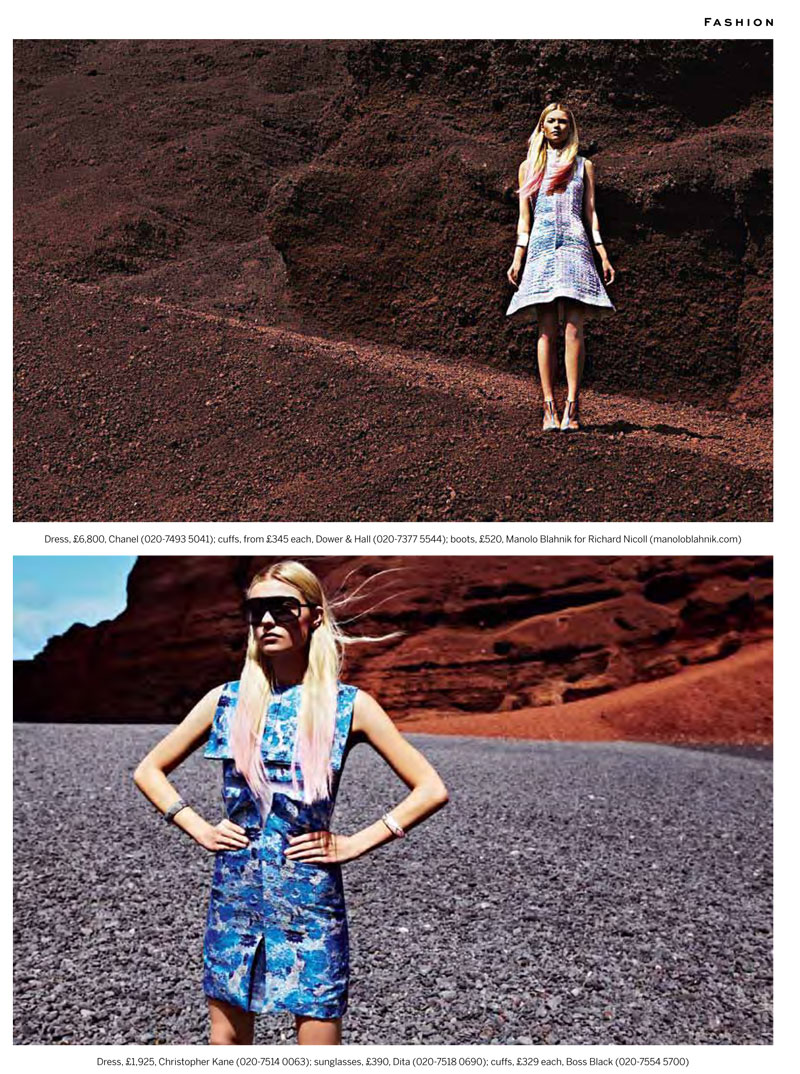 Paul Smith Captures Sci-fi Fashion for Stylist Magazine