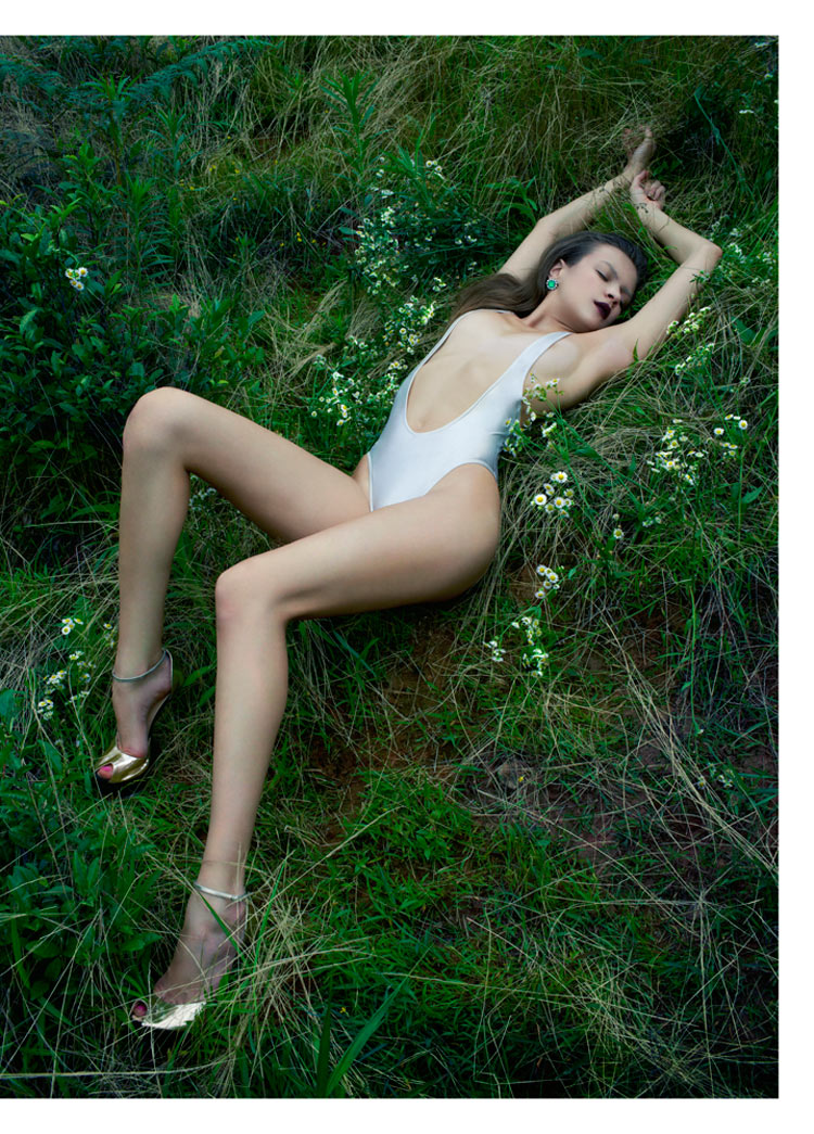 Dasha Lets Her Body Talk for Modern Weekly China by JMN