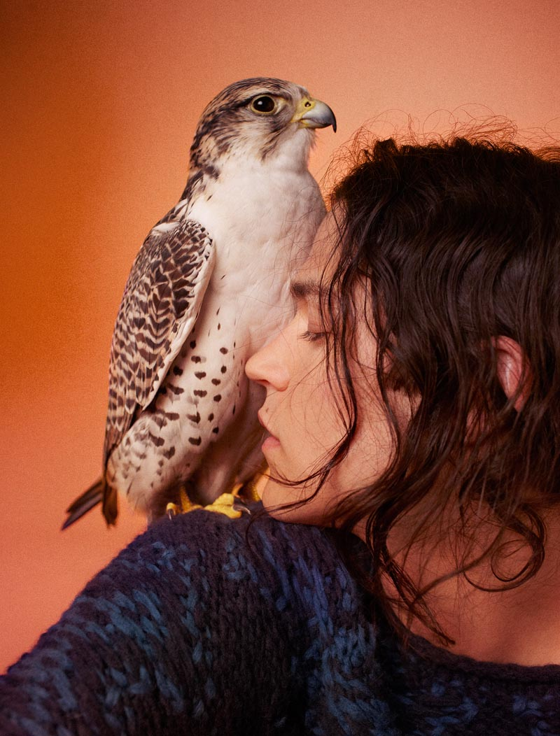 "Edun Enlists Ryan McGinley for Its Fall 2012 Campaign Featuring ""Birds of Prey"""