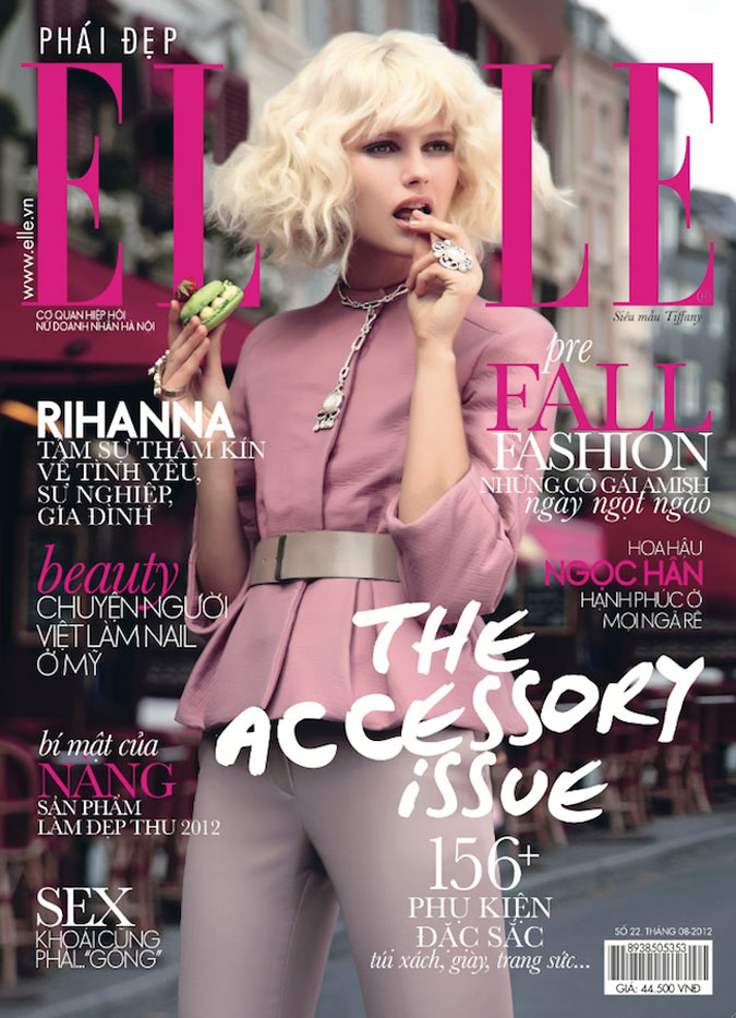 Greg Swales Captures French Chic for Elle Vietnam August 2012