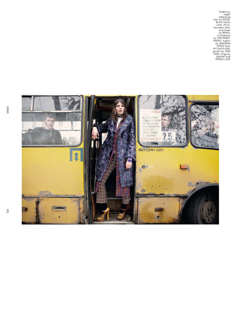 Laura Kampman Has 70s Flair for Yelena Yemchuk's Dazed & Confused Shoot