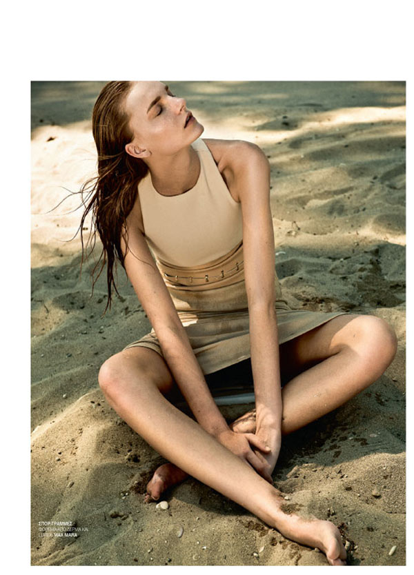 Thanassis Krikis Captures Island Looks for Marie Claire Greece August 2012