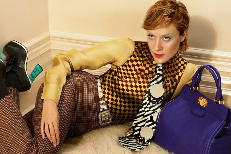 Chloe Sevigny Sports Tailored Suiting for Miu Miu's Fall 2012 Campaign by Mert & Marcus