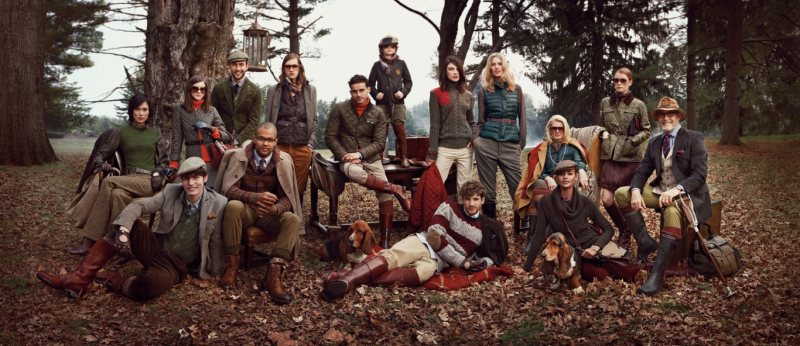 Toni Garrn, Tao Okamoto, Jacquelyn Jablonski & Others Star in Tommy Hilfiger's Fall 2012 Campaign by Craig McDean