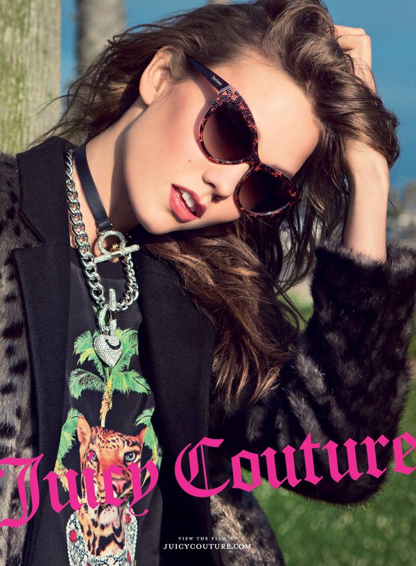 Karlie Kloss Has California Flavor for Juicy Couture's Fall 2012 Campaign by Inez & Vinoodh