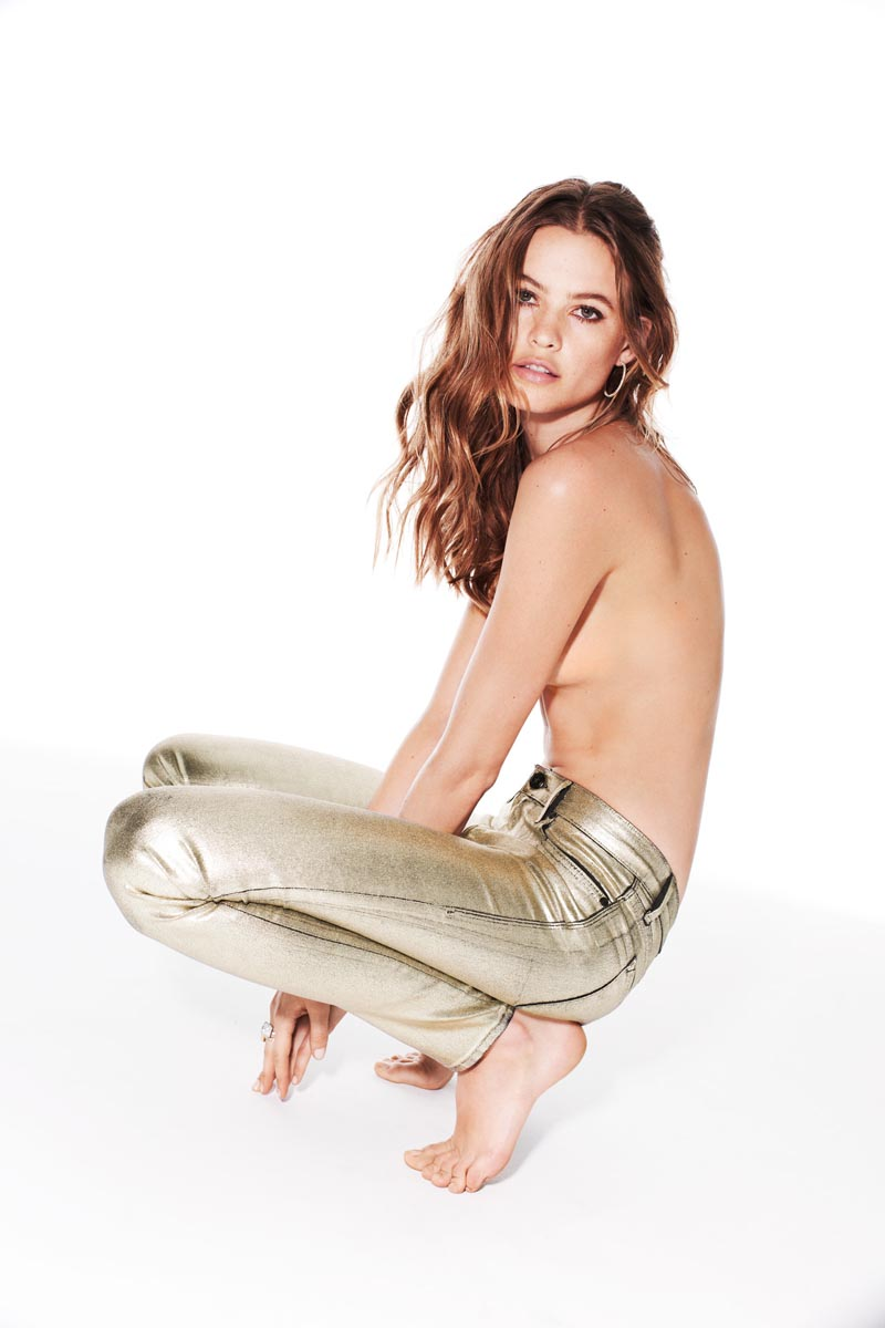 Behati Prinsloo Gets Undressed for Juicy Couture Jeans' Fall 2012 Campaign by Katja Rahlwes