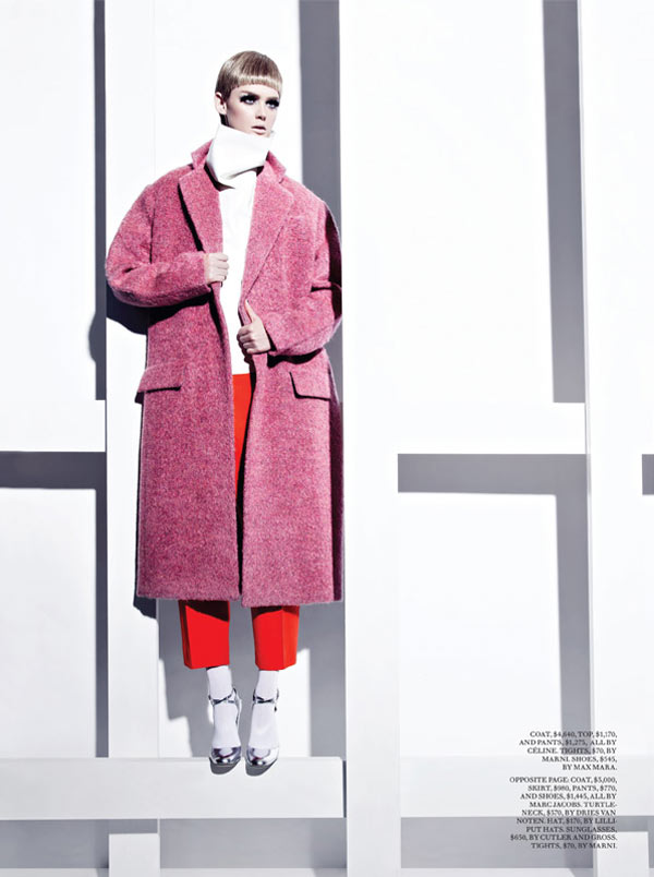 Lisa Cant is Part of the Mod Squad for Fashion September 2012 by Gabor Jurina