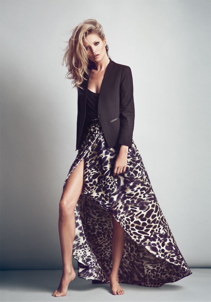 Kate Moss is Beyond Cool in Mango's Fall 2012 Campaign