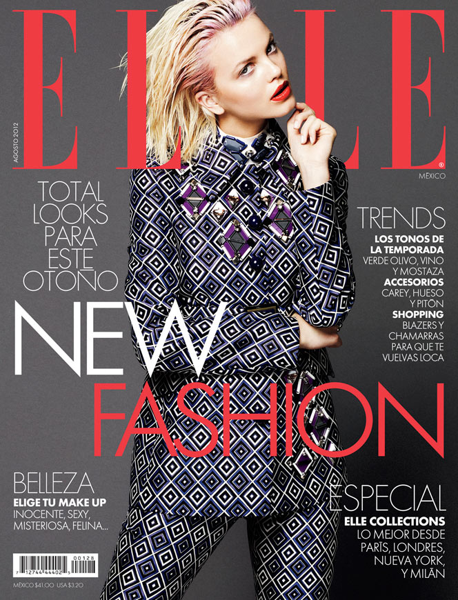 Merethe Hopland Transforms in Autumn Looks for Takahiro Ogawa's Elle Mexico Shoot