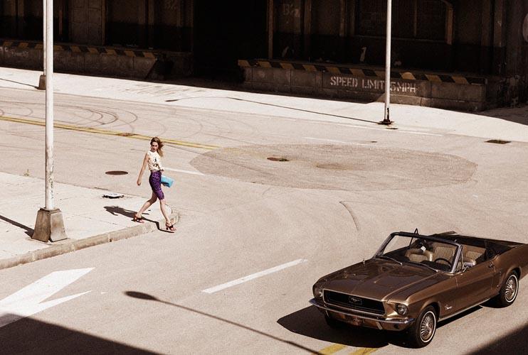 Niki Hajdu Embraces Vibrant Prints for Zoltan Tombor's Marie Claire Hungary Shoot