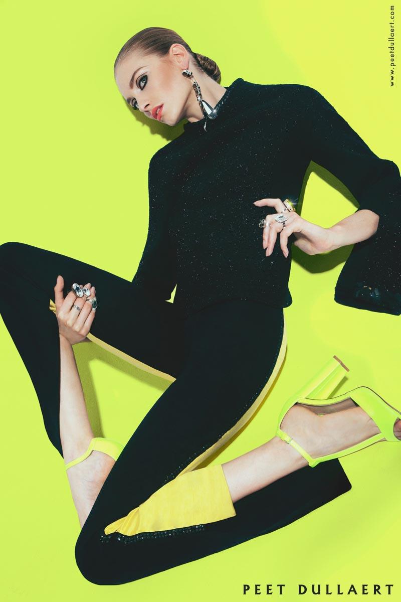 Iris van Berne Fronts Peet Dullaert's Fall 2012 Campaign