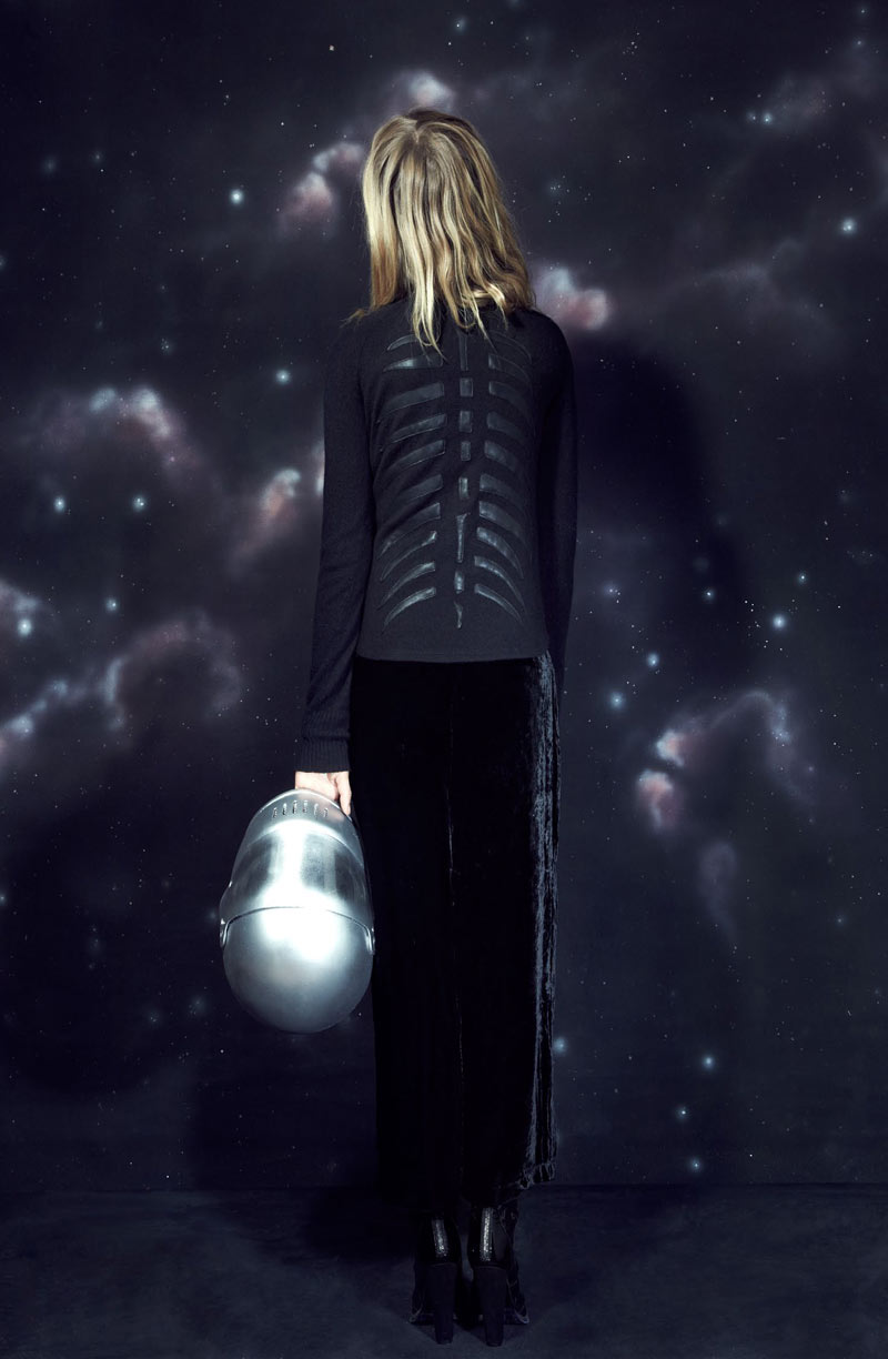 Zippora Seven Goes to Outer Space for VEDA Holiday/Resort 2012 Lookbook