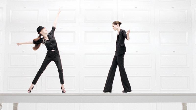 Coco Rocha Has Danceability for White House Black Market's Fall 2012 Campaign