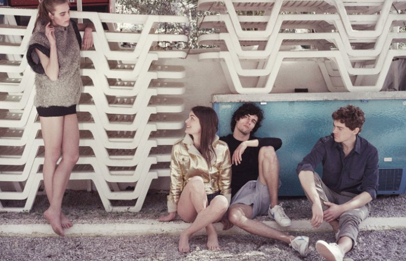 Marcus Ohlsson Captures Anouck Lepere & Others On a Summer Vacation for Velvet