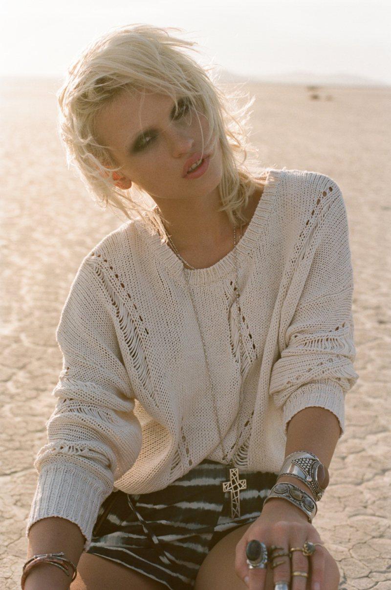 Anja Konstantinova is a Traveling Girl for Nasty Gal's August Lookbook
