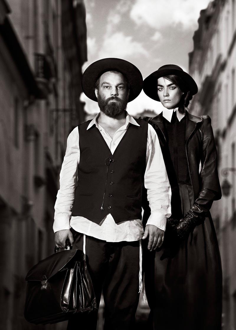 Patrycja Gardygajlo Evokes Orthodox Style in Alexander Neumann's L'Officiel Paris Shoot