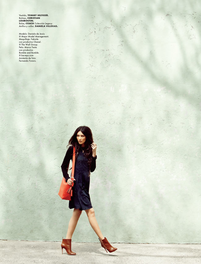 Santiago Ruisenor Captures Casual Chic Looks for Elle Mexico's September Issue