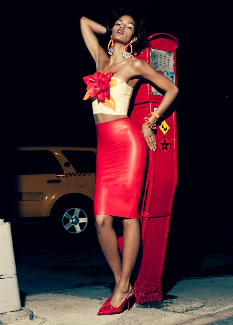 """Cris Urena by Alexander Neumann in """"Maybe Tonight"""" for Fashion Gone Rogue"""