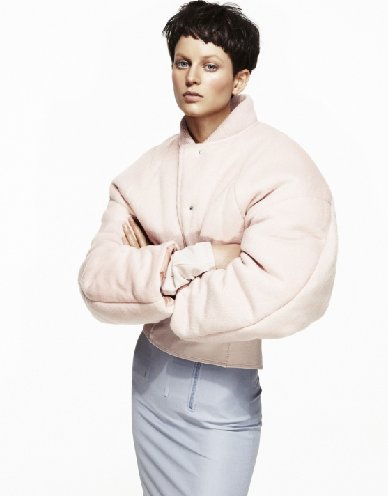 Ellinore Erichsen is Cool in Pastels for Elle Sweden by Andreas Öhlund