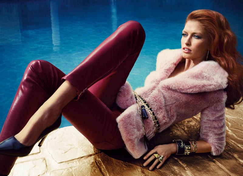 Hunter & Gatti Capture Poolside Glamour for Guess by Marciano's Fall 2012 Campaign
