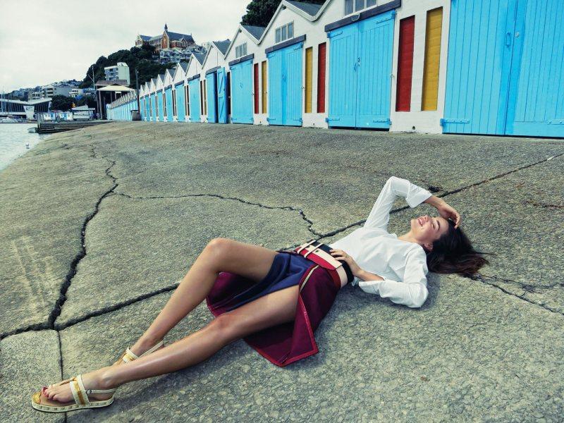 Miranda Kerr Explores New Zealand for T Magazine by Orlando Bloom