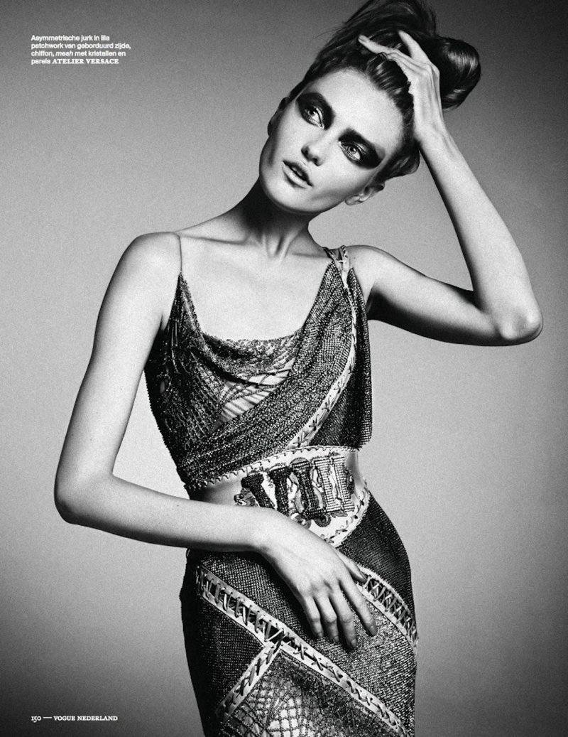 Vlada Roslyakova Rocks the Haute Couture Collections for Vogue Netherlands September 2012