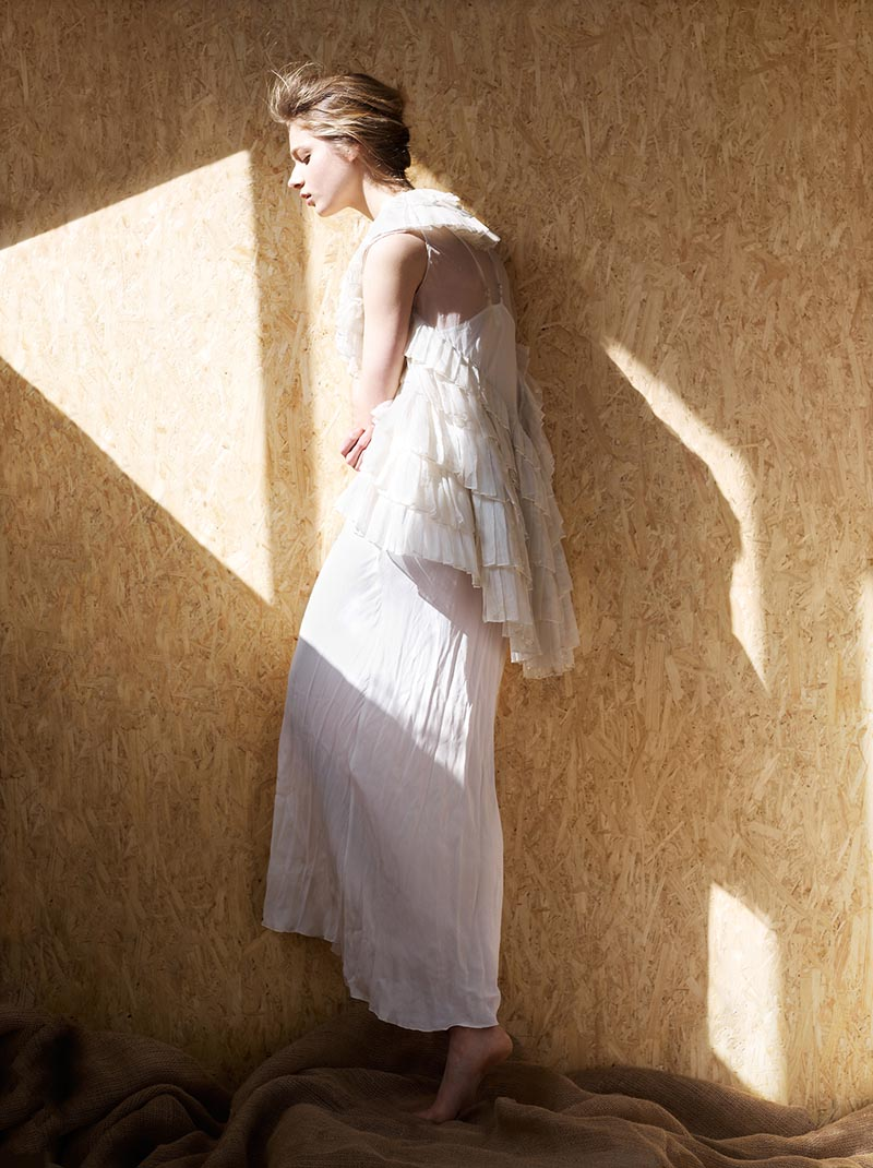 """Vivian Witjes by Amanda Lim in """"White Blossom"""" for Fashion Gone Rogue"""