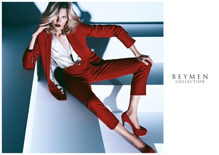 Magdalena Frackowiak Seduces in Beymen Collection's Fall 2012 Campaign by Koray Birand
