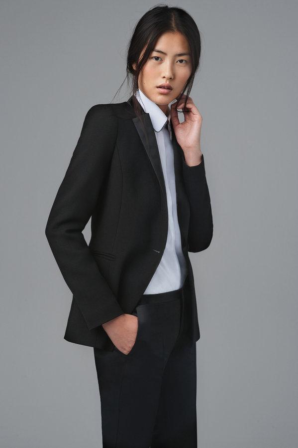 Traje de chaqueta de mujer en zara