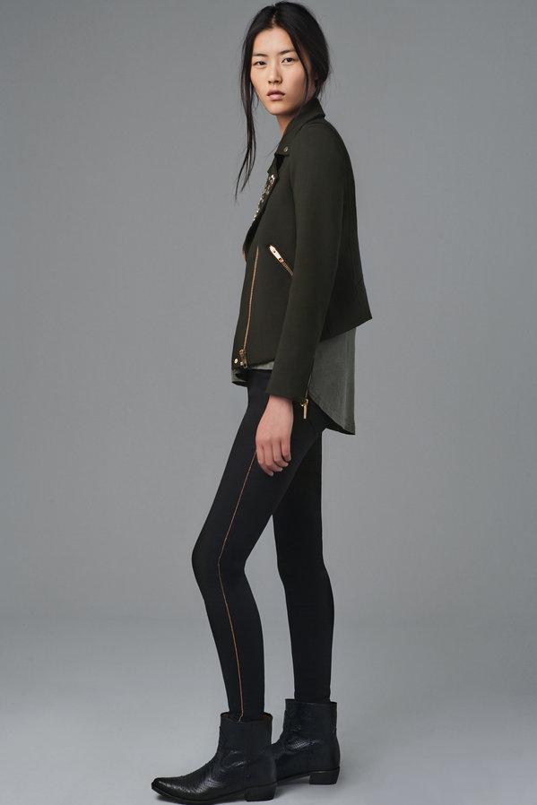 Liu Wen Plays it Cool for Zara's August 2012 Lookbook