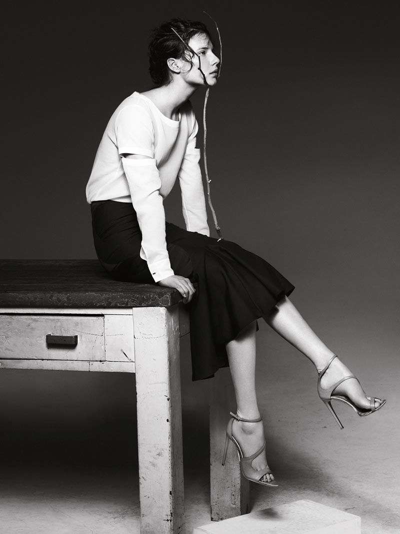 Liu Wen, Anais Pouliot, Querelle Jansen & Others Keep it Natural for The Room S/S 2012