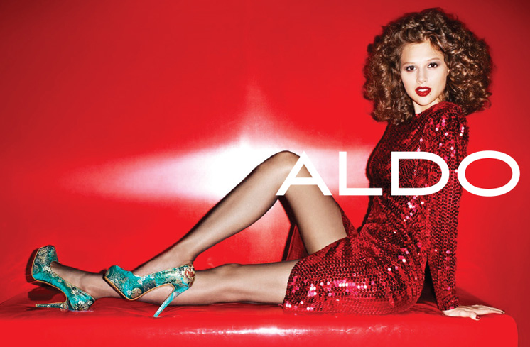 Aldo Enlists Anais Pouliot for its Fall and Holiday 2012 Campaigns by Terry Richardson