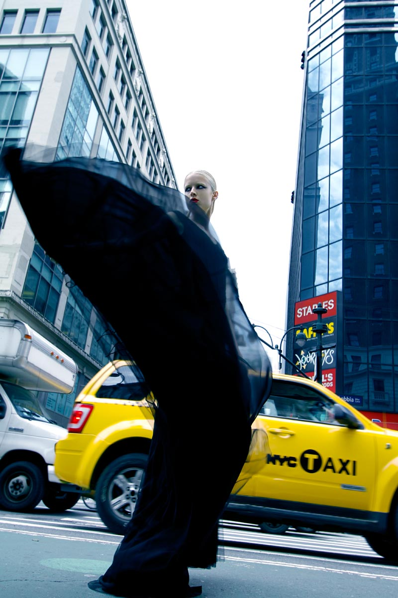"Charlie Paille by Antia Pagant in ""New York State of Mind"" for Fashion Gone Rogue"