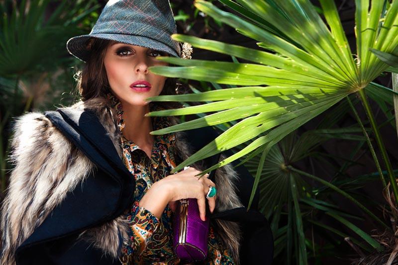 Olivia Palermo Graces Velvet's September 2012 Issue by Luc Coiffait