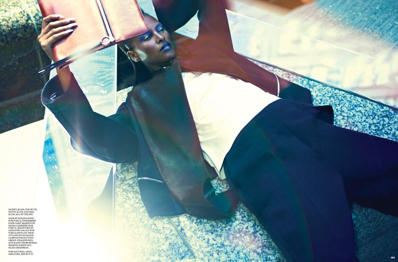 Francisco Garcia Captures Fall Power Dressing for Fashion October 2012