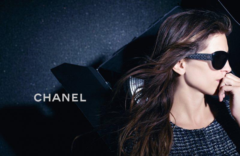 Chanel Enlists Maïwenn for its Fall 2012 Eyewear Campaign by Karl Lagerfeld