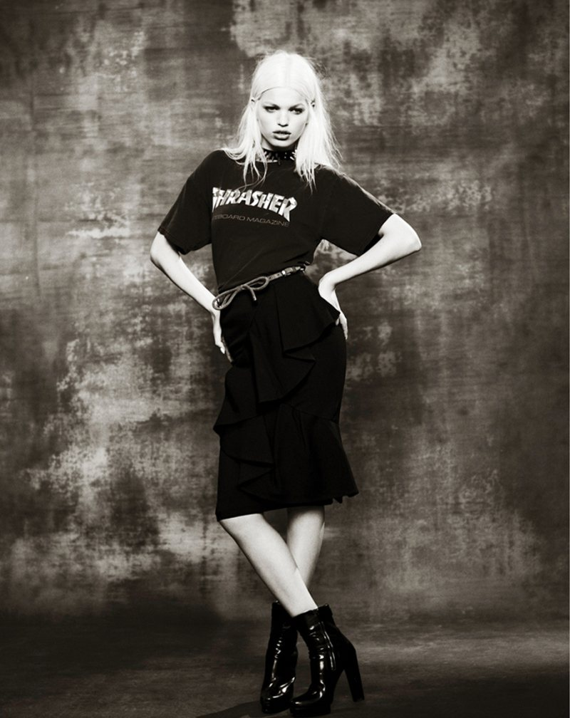 Daphne Groeneveld Rocks Cool Fashion for Mariano Vivanco's Muse Shoot