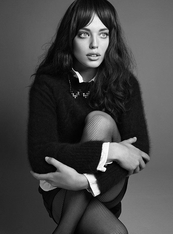 Emily DiDonato Stars in Black Magazine's F/W 2012 Cover Shoot by Derek Kettela