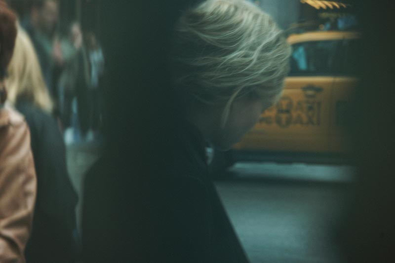 Peter Lindbergh Captures J. Lindeberg's Fall 2012 Collection in Times Square