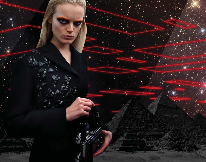 Prada Real Fantasies Fall 2012 Lookbook