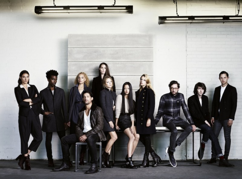 AllSaints' A/W 2012 Campaign is a Creative Experience